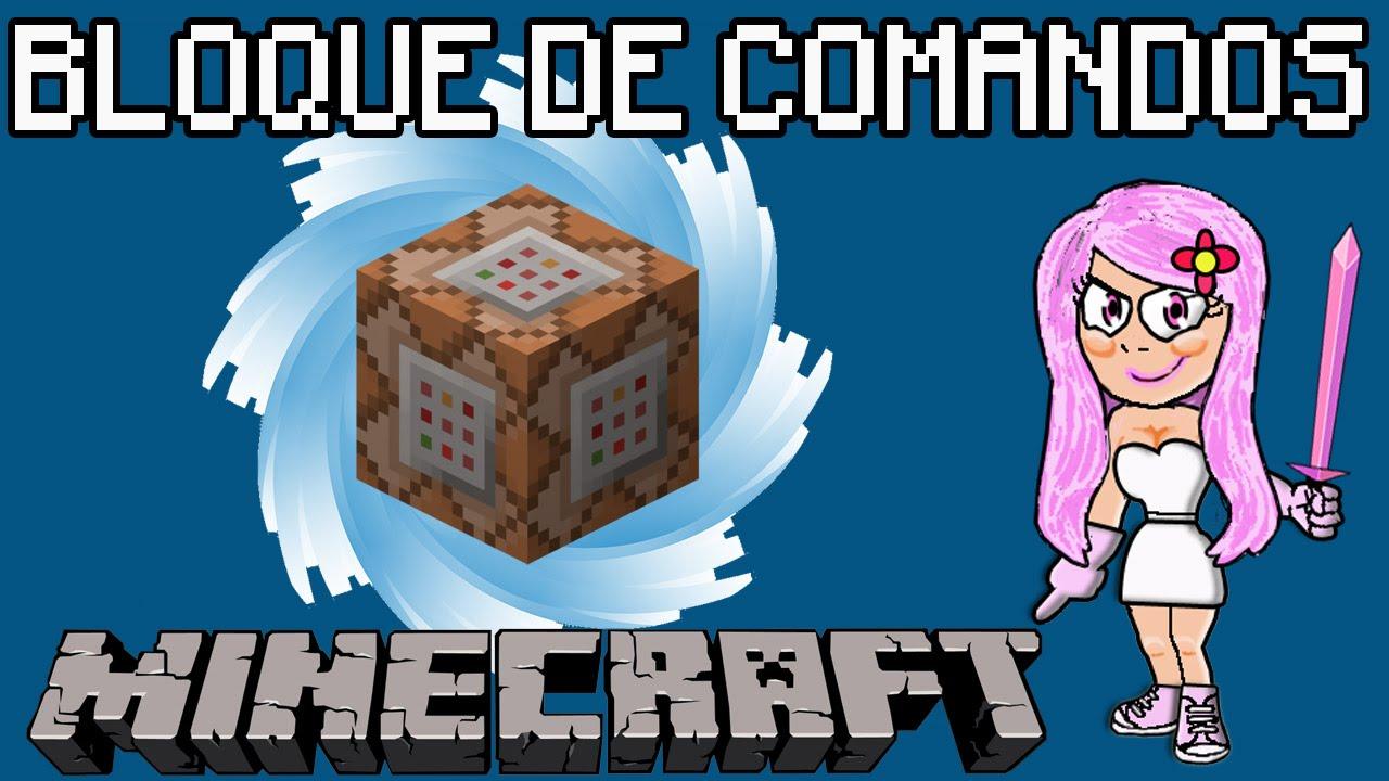 C mo conseguir el bloque de comandos en minecraft youtube for Blancana y mirote minecraft
