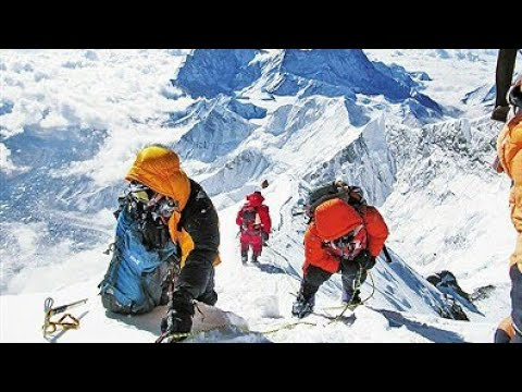 Mount Everest climbing.... सगरमाथा (Sagarmāthā)