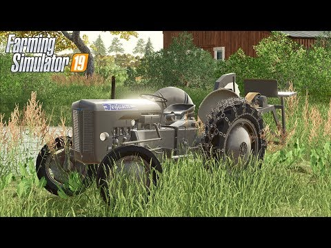 BARN FIND OLD FERGUSON TRACTOR | (ROLEPLAY) ALBERTA MAP - FS19