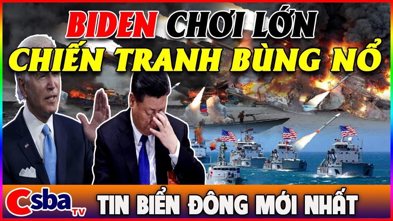 Tin Biển Đông Nóng Nhất : Mỹ Lên Nòng Cảnh Báo Hủy Diệt , Tập Cận Bình Bình Tĩnh Đối Đầu