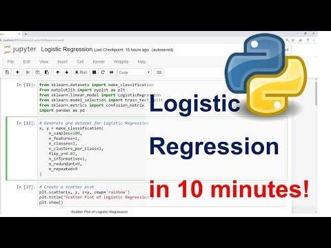 Logistic Regression In Python Step By Step In 10 Minutes