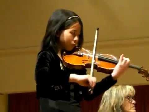 Wieniawski Scherzo Tarantelle (Kevie Yu, 12 yrs)