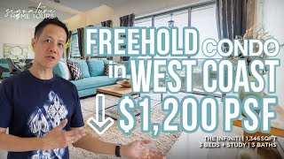 The Infiniti: Freehold Condo in West Coast with Lower $1,200PSF ($1.6M , 3 Plus Study Unit)