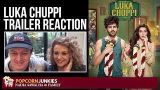 LUKA CHUPPI (Official Trailer) - Nadia Sawalha & The Popcorn Junkies Reaction