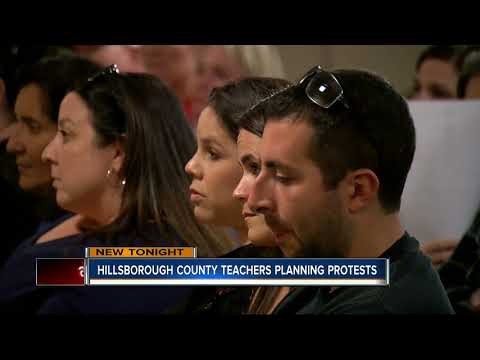 Hillsborough County School teachers frustrated over lack of pay raise