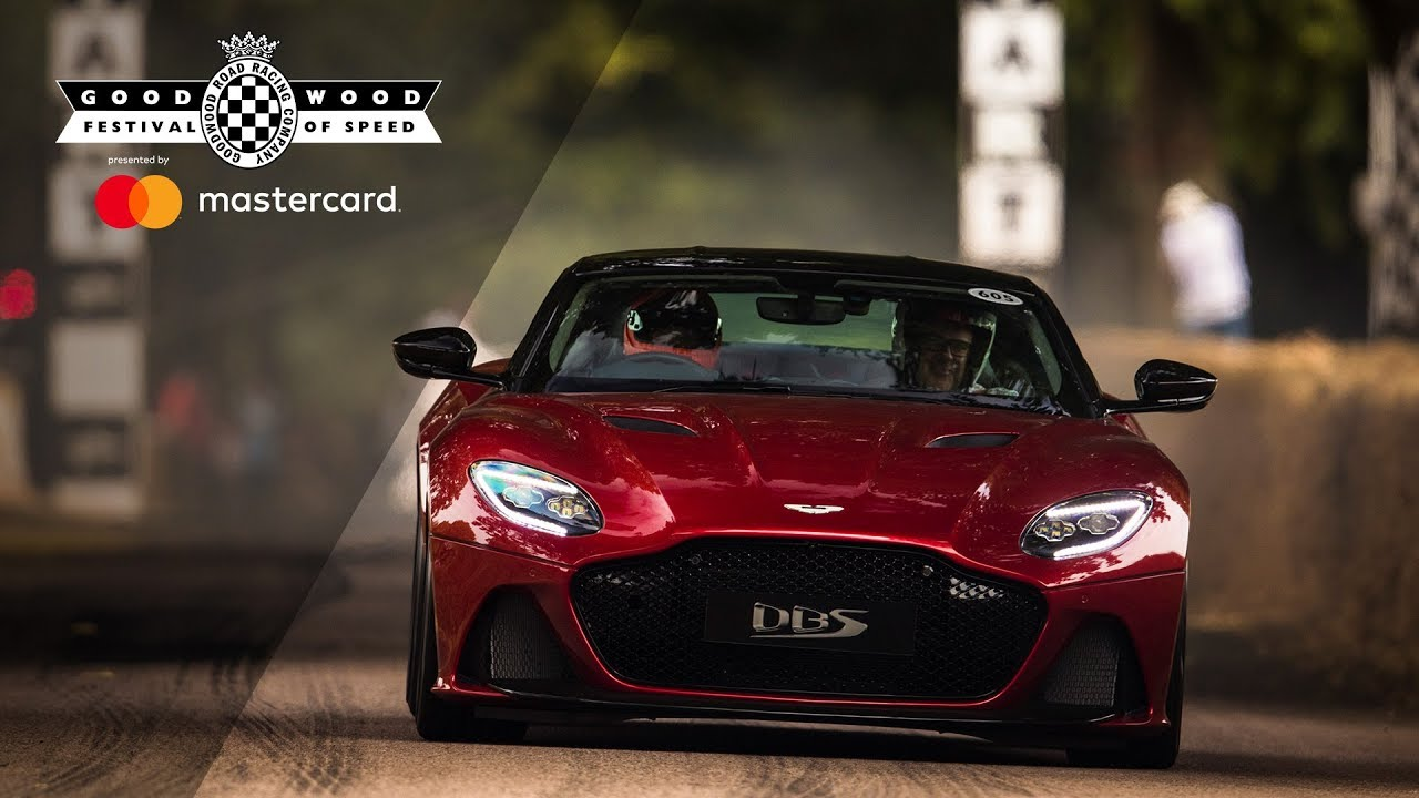 715bhp Aston Martin Dbs Superleggera Makes World Debut At Fos Youtube