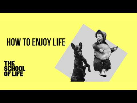 How to Enjoy Life Class Promo: The School of Life, Taipei