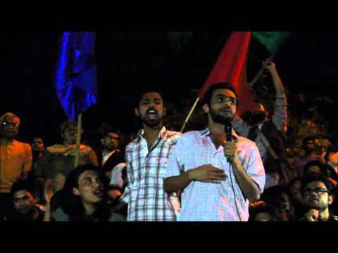 Umar Khalid's Powerful Speech  at Ad Block after his bail today 18th March (Full Speech)