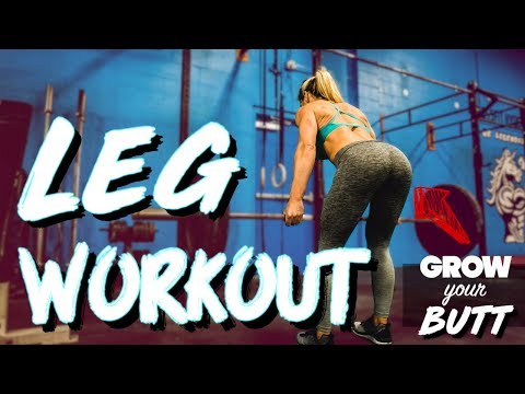Complete Leg Workout For Building Glutes and Thighs | Sarah Grace Fitness