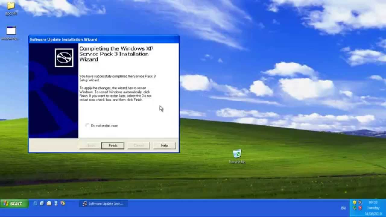 windows xp pak3