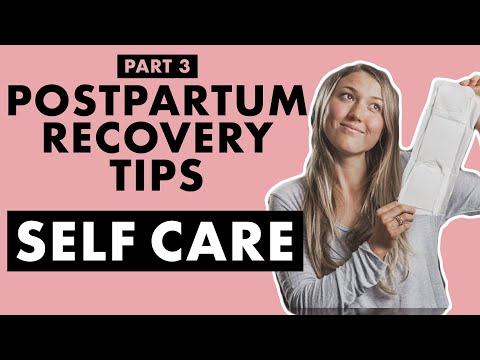 Postpartum Care: DIY Padsicles, C-Section Care, and How to Eliminate Stress   Birth Doula