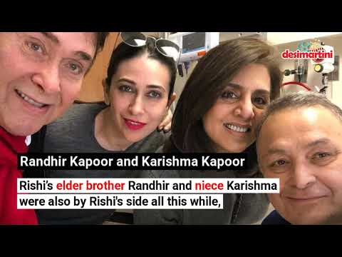 Celebs Who Visited Ailing Rishi Kapoor In New York Mp3