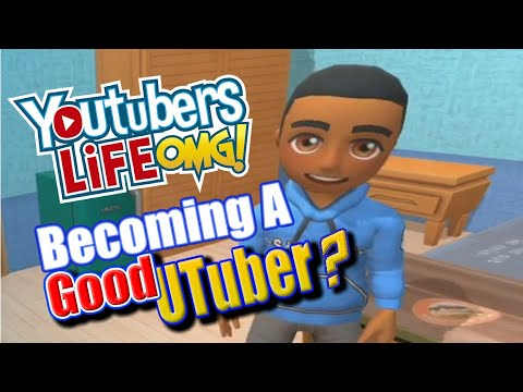 I'm A better youtuber in a video game (Youtubers Life Gameplay) |