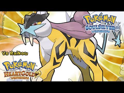 Pokemon HeartGold/SoulSilver - Battle! Raikou Music (HQ)