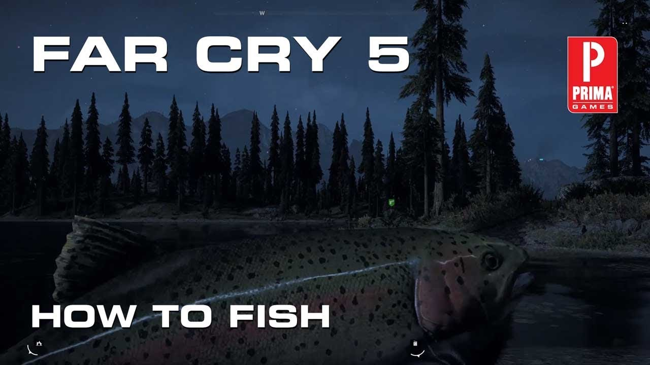 far cry 5 equip fishing rod