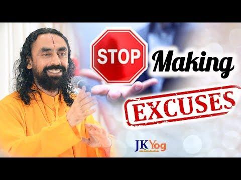 STOP Making Excuses - Take Charge of Your Life | Swami Mukundananda
