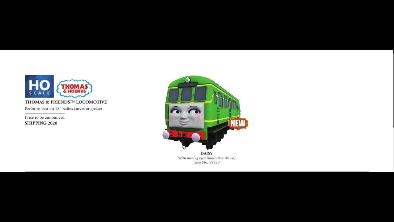 Bachmann Thomas & Friends 2019/2020 (Daisy and Peter Sam) Discussion