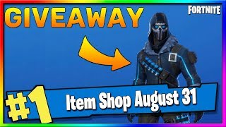 Fortnite Item Shop GIVEAWAY *NEW* VULTURE OUTFIT! August 31st, 2019 Fortnite Season X