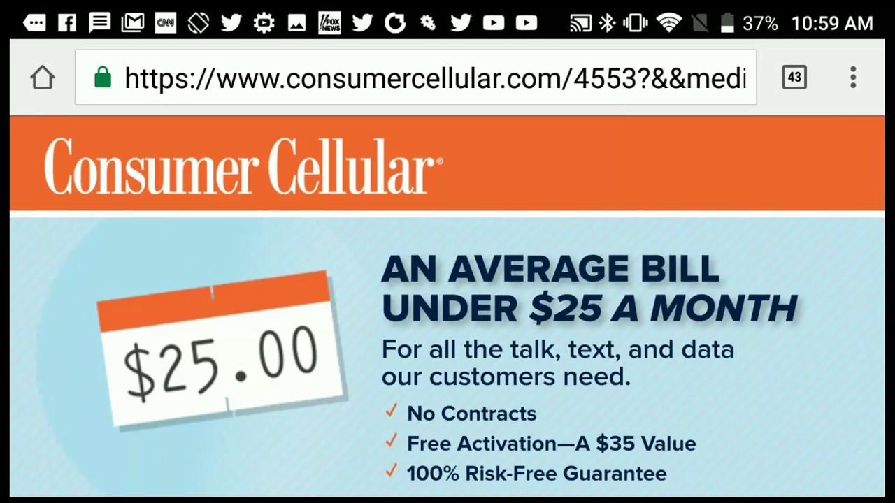 verizon prepaid  consumer cellular  tracfone wireless review customer service