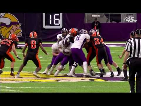Prep Football: Grand Meadow vs Cleveland/Immanuel Lutheran, Prep Bowl (11/25/2016)