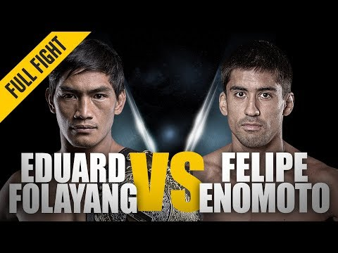 ONE: Full Fight | Eduard Folayang vs. Felipe Enomoto | Incredible Display Of Heart | August 2012