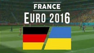 Gols de Alemanha x Ucrania Eurocopa 2016