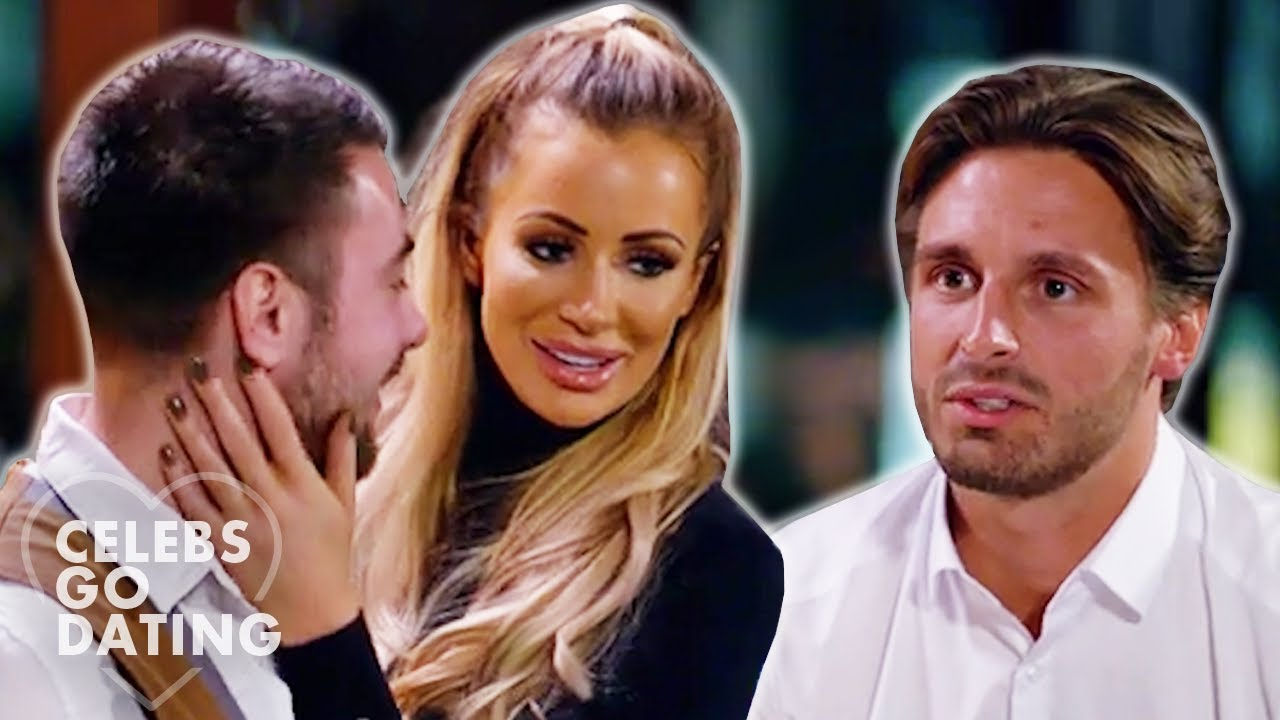 Olivia Attwood FLIRTS with the WAITER In Front of Her DATE! | Celebs Go Dating