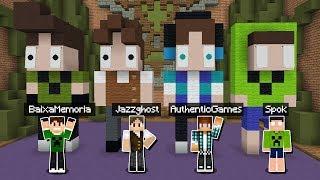 Minecraft: BUILDÃO COM OS YOUTUBERS DA FAMÍLIA CRAFT! (BUILD BATTLE)