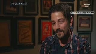 Jose Ramon Fernandez entrevista al actor Diego Luna - Futbol Picante