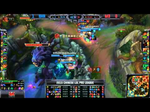 SHR (Insec Fiddlestick) VS M3 (Dade Azir) Game 2 Highlights - 2015 Spring LPL W6D3