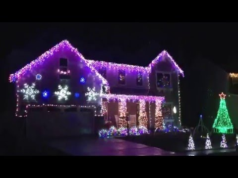 Awesome Christmas lights  display in Harrison Ohio