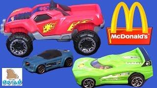 Мультики про Машинки. Машинки Хот Вилс из МАКДОНАЛЬДС. Машины для Детей #Видео для Детей