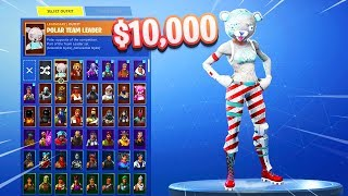 MY $10,000 SKINS LOCKER in Fortnite.. (RARE SKINS)