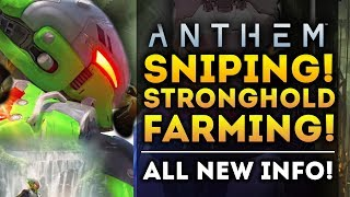 Anthem Game - Stronghold Loot! Sniper Javelins, Skin Rarities, The Interceptor and More!