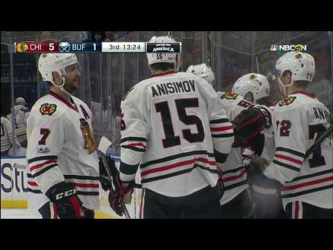 Gotta See It: Panarin spots wide open Kane who undresses Lehner