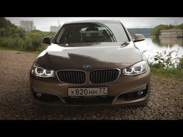 NEW BMW 328i GT: Тест-драйв в программе Москва рулит.