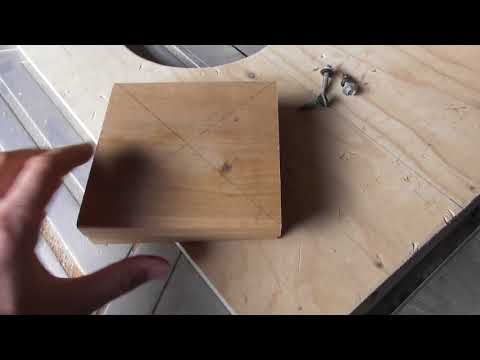 How to Make Nest Box Concave Inserts