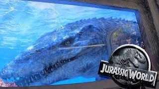 Jurassic World The Ride - Full Front Seat POV - Universal Studios Hollywood Theme Park - 2 ...