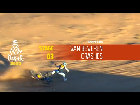 Dakar 2020 - Stage 3 - Van Beveren Crashes
