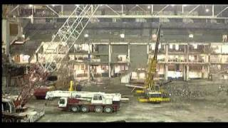 Maple Leaf Gardens internal gutting.avi