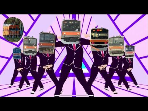 【鉄道PV】MU!SA!SHI!