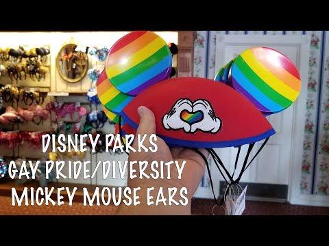 Disney Parks - Mickey Mouse Rainbow Love - Diversity & Gay Pride Ears