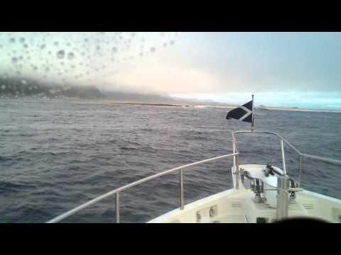 Crossing the Tillamook Bay bar