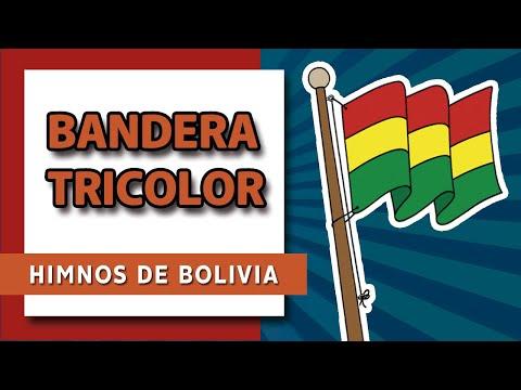 Bandera tricolor (HIMNOS DE BOLIVIA)