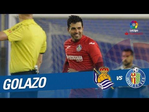 Golazo de Ángel (1-2) Real Sociedad vs Getafe CF