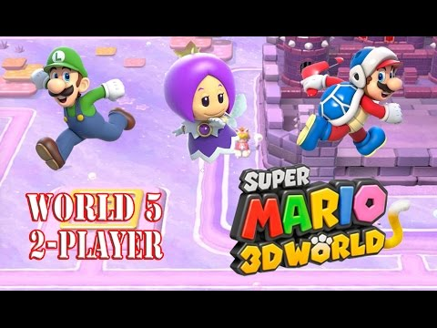 Super Mario 3D World - World 5 (2-Player)