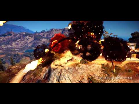 "JUST CAUSE 3 - 360º  ""The Wingsuit Experience"""