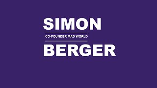 mycoocoon Colour Visions Interview with Simon Berger - Founder Mad World