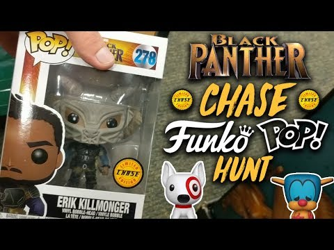 Found a Chase Black Panther Funko Pop! (Funko Pop Hunt)