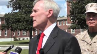 Secretary of the Navy Ray Mabus Interview